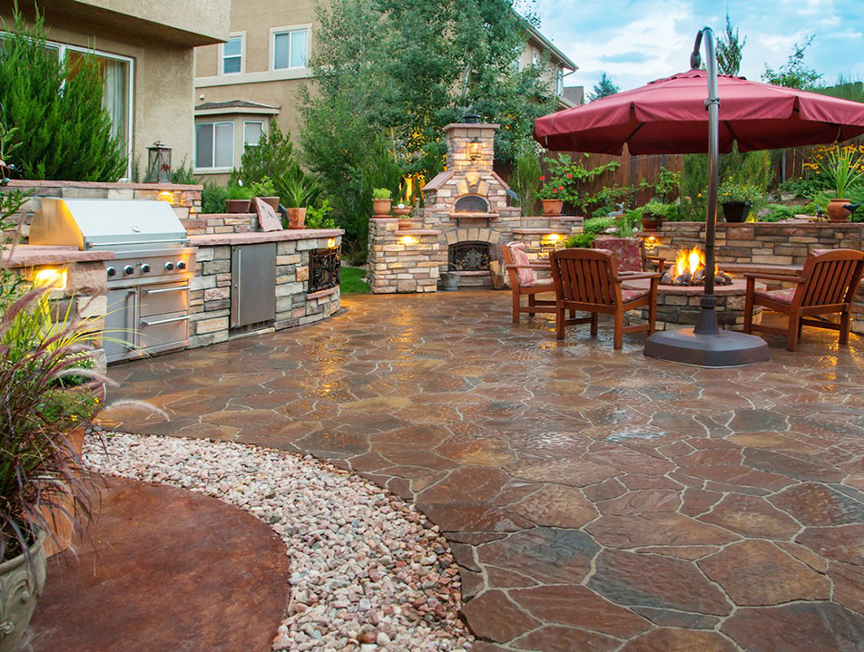 outdoor patio design pictures