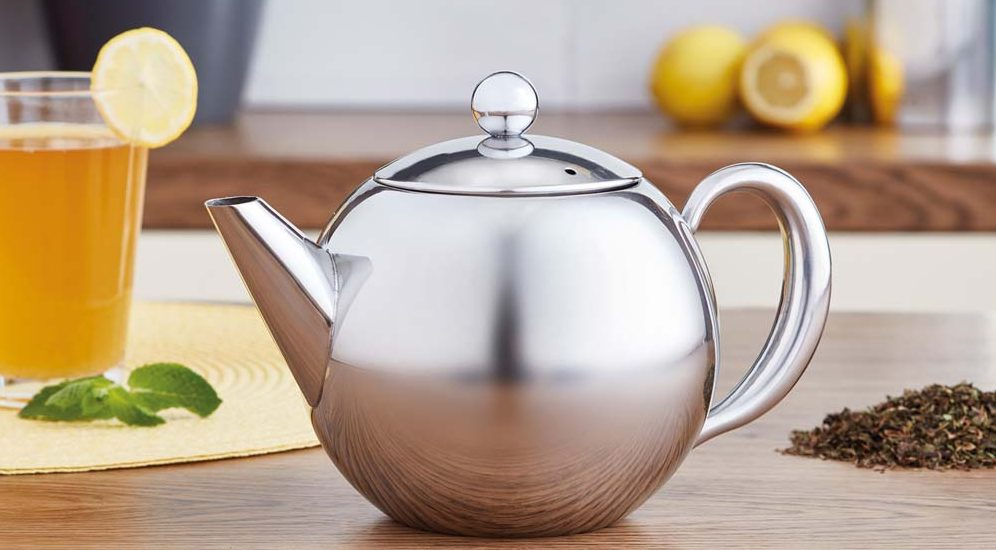 professional teapot with infuser