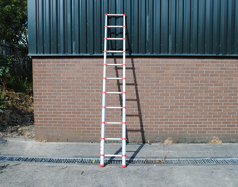 telescopic ladder outdoor use