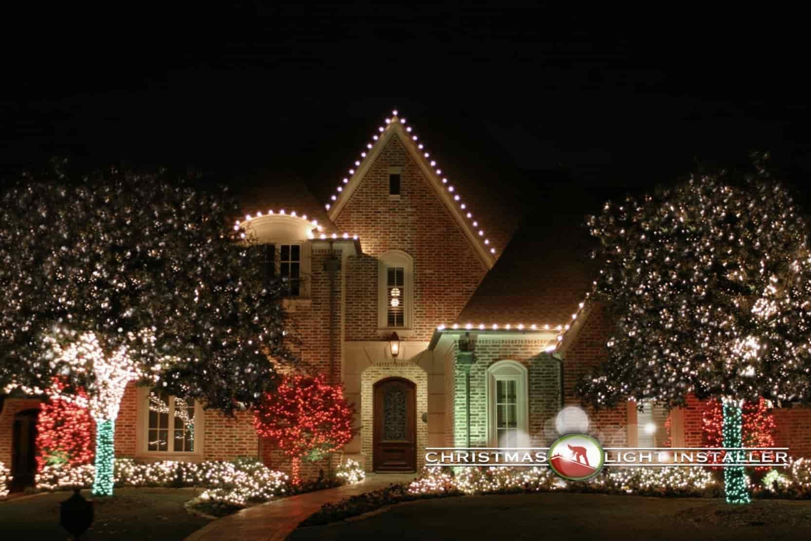 professional christmas lights